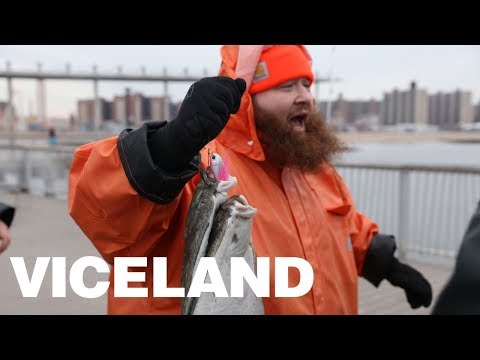 Action Bronson & The Boys Bait Fish with Hot Dogs