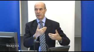 Mind the Gap: Managing Globalisation, Ian Goldin lecture at the University of Warwick