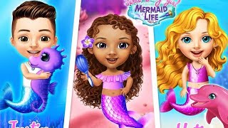 Fun Girl Care Game - Sweet Baby Girl Mermaid Life - Are U Ready to Explore The Magical Ocean World?