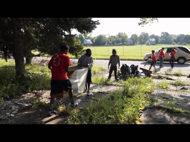 Summer Youth Initiative (SYI) Volunteer Day 2014