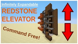 Expandable Redstone Elevator & Build Tutorial - Minecraft 1.10