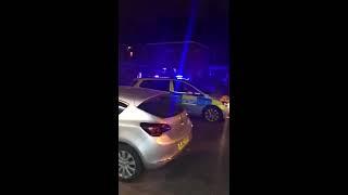 Gangestar vs police in south harrow [ police runaway] 2017