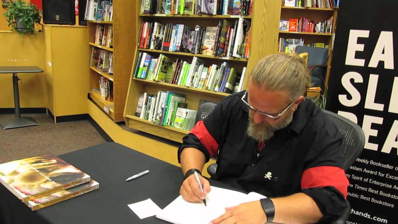 Shawn Crahan Book Meeting m Shawn Crahan Clown