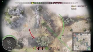World of Tanks PS4 - M40/M43 - Gore`s Medal - 6 kills