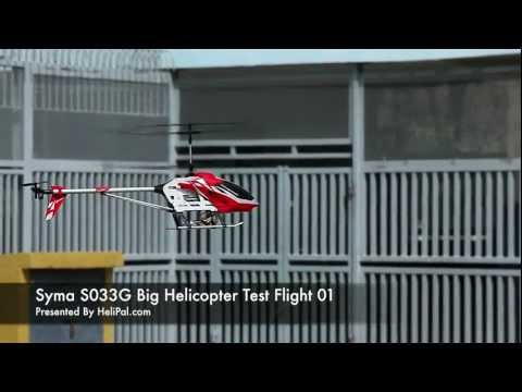 HeliPal.com - Syma S033G Big Helicopter Test Flight 01