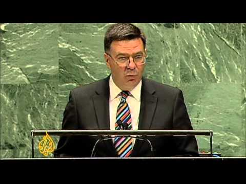 UN condemns Syrian government for violence