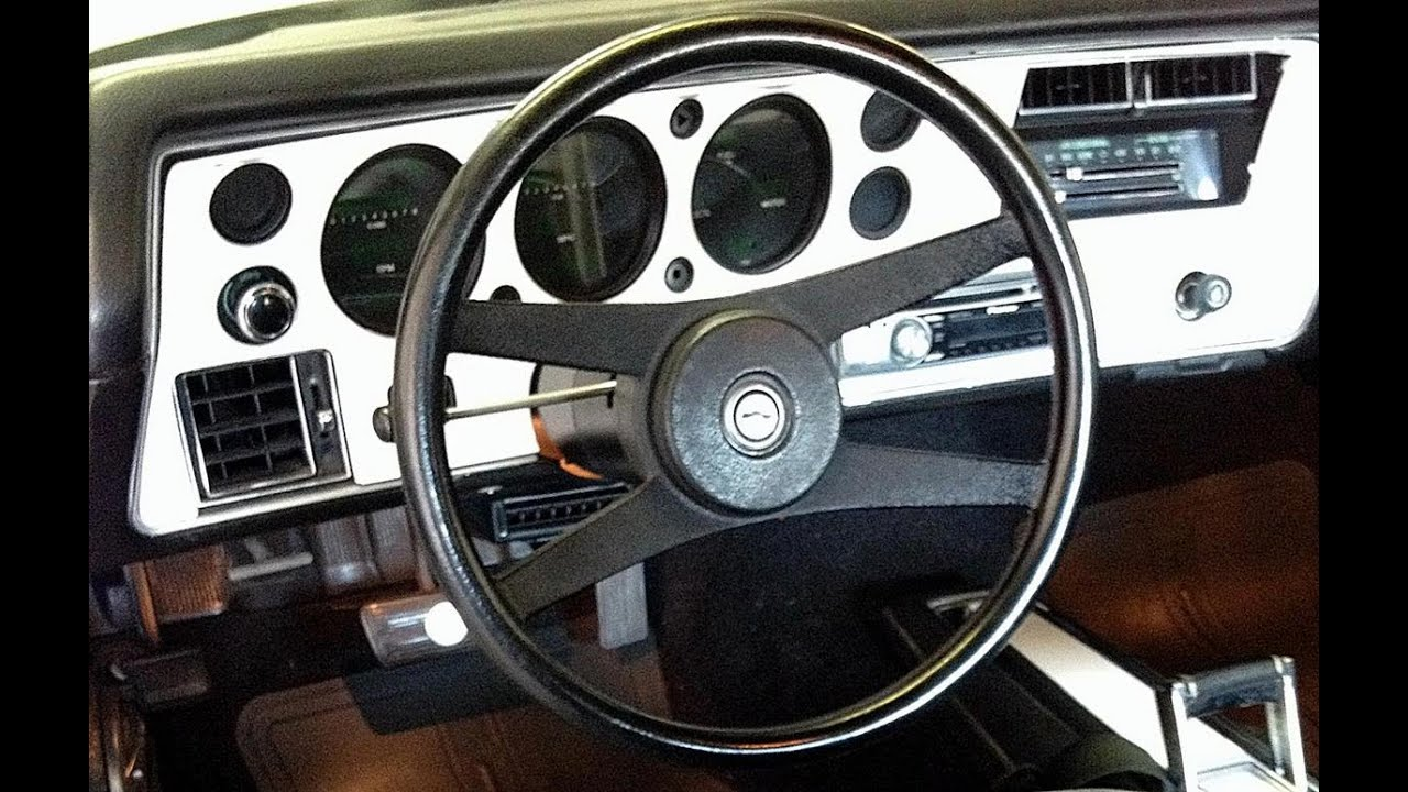 1970 Monte Carlo Ls1 Dash Sold By Musclecarjr Youtube