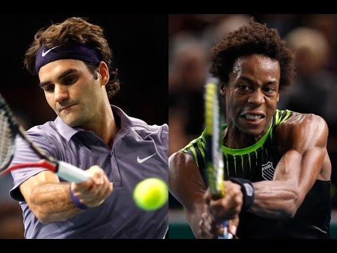 [Coupe Davis 2014 - France/Suisse] Highlights : Federer-Monfils