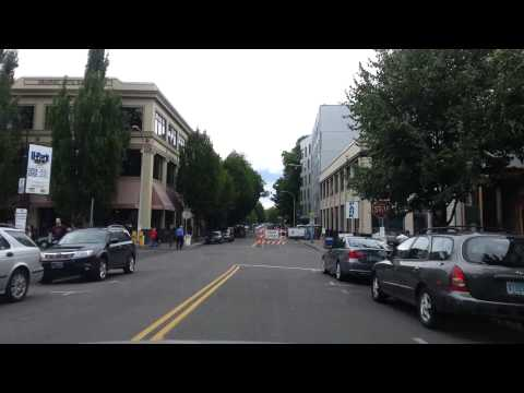 (8) Dashcamming - Zooming Through Beaverton, Sylvan Hill, Downtown, the Eastisde, NoPo, and SW