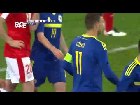 Švicarska vs. BiH - Edin Džeko 0:1 - 15' - 29. 3. 2016.