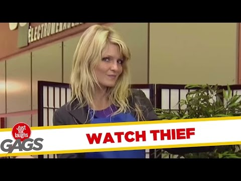 Versteckte Kamera - Mysterious Stealing Girl Prank