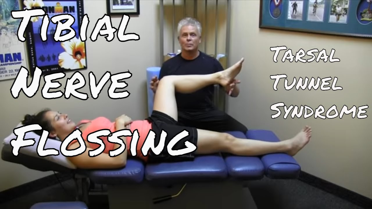 Flossing The Tibial Nerve Youtube
