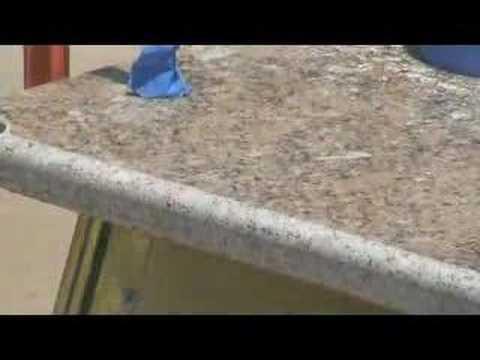 How To Profile Amp Polish Granite Countertop Diy Youtube