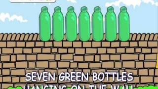ten green bottles hanging on the wall