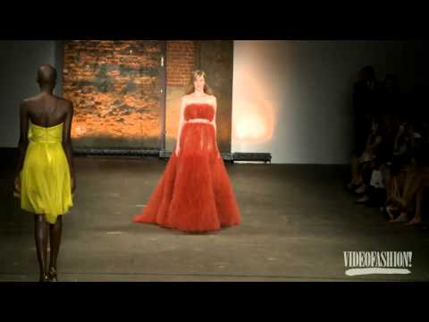 Christian Siriano S/S 2012 - Videofashion