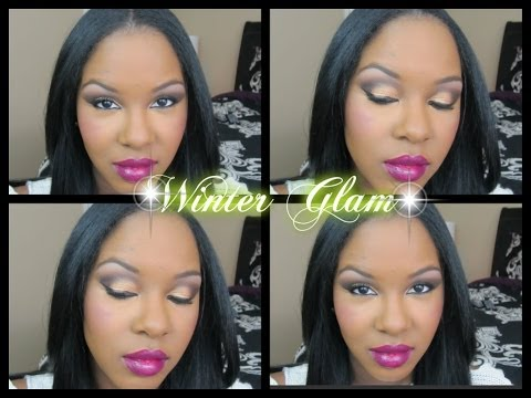 Get Ready With Me- My Go To Winter Glam Makeup