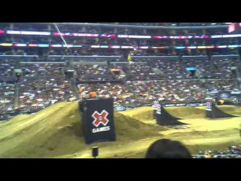 X Games 16 Moto X Frontflip CRASH Double Backflip Body Varial Best Trick Comp 2010 Droid X