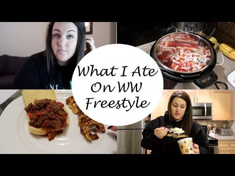Weight Watcher Freestyle | What I Ate + Instant Pot Cook With Me