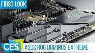 Asus ROG Dominus Extreme Mainboard für Intel Xeon W-3175X CPU mit 28 Kernen