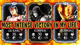 MKX Mobile. BEST TEAM for FACTION WARS 2018. Beat the HACKERS! Amazing Synergy!