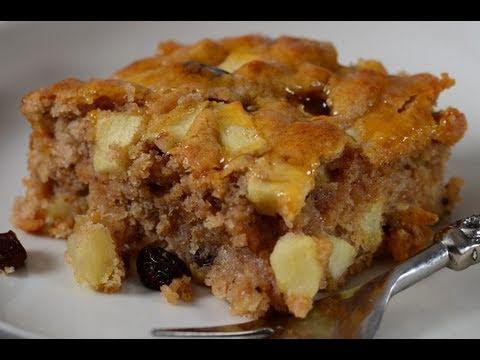 Eggless Apple Cake By Nisha Madhulika