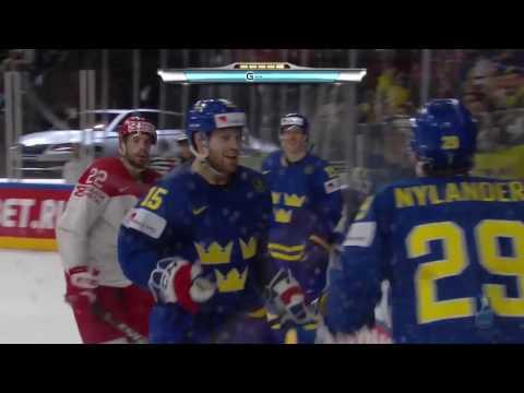 чм по хоккею 2017 Дания Швеция