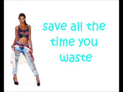 The Saturdays- Forever Is Over- Lyrics video