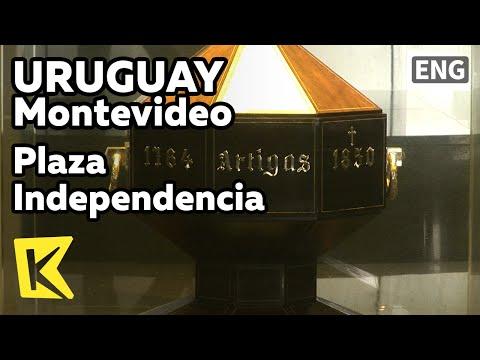 【K】Uruguay Travel-Montevideo[우루과이 여행-몬테비데오]독립광장, 아르티가스 위령소/Plaza Independencia/Artigas Mausoleum