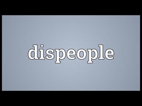 Header of dispeople