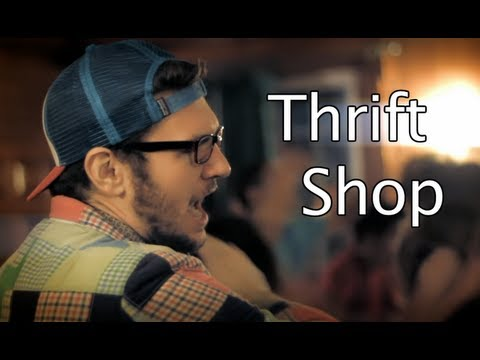 Dartmouth Aires And Sheba - Thrift Shop (macklemore And Ryan Lewis) [live Performance] video