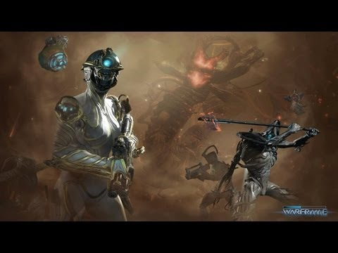 Warframe: Overview/First Gameplay - Nekros. Soma/Ether Reaper. Carrier Sentinel - Ep#1