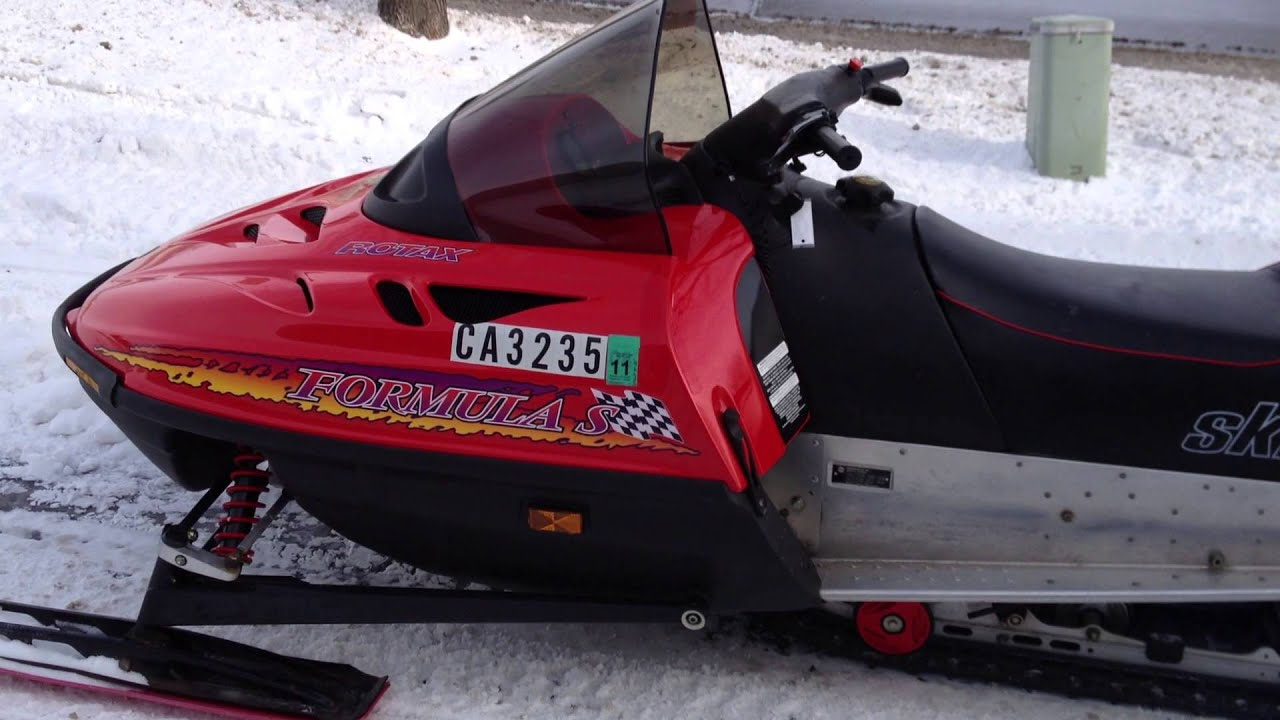 1997 Ski Doo Formula S 380 Youtube