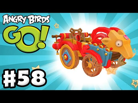 Angry Birds Go! Gameplay Walkthrough Part 58 - Goat Kart! Chinese New Year! (iOS, Android)
