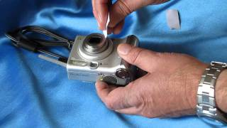 Fixing Lens Problems on a Digital Camera (lens error, lens stuck, lens jammed, dropped)