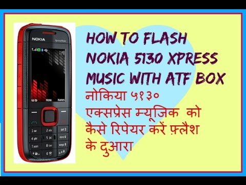HOW TO REPAIR NOKIA 5130 XPRESS MUSIC WITH FLASH
