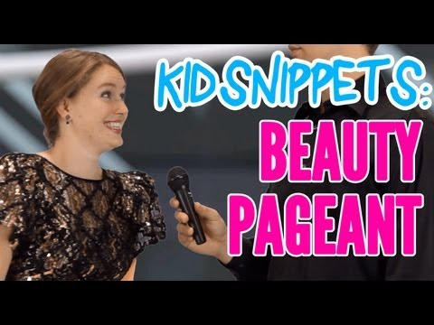 Kid Snippets: beauty Pageant (imagined By Kids) video