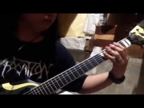 Almoranaz - Rectal Defloration (guitar Playthrough) By Mf video