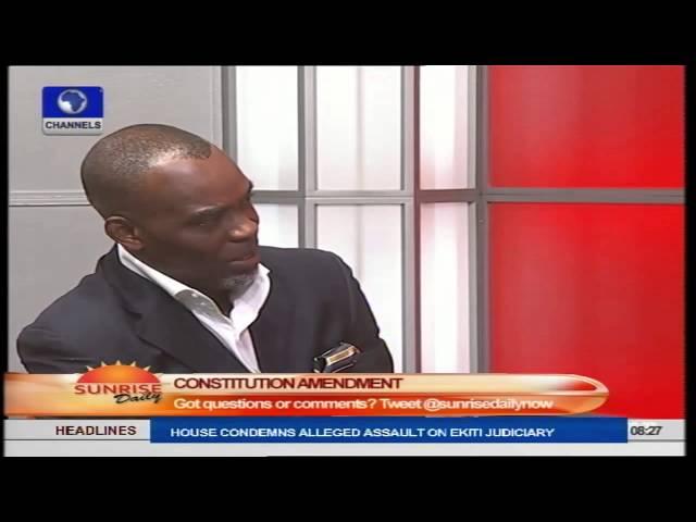 Leaving Immunity Clause Will Promote Impunity  - Maduka Part 2