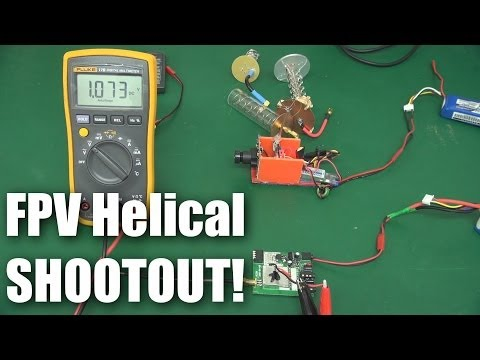 FPV 5.8GHz helical antenna shootout