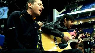 """Linkin Park """"Leave Out All The Rest"""" acoustic- summit London 2010"""