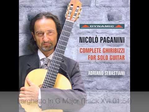 Паганини Никколо - 43 Ghiribizzi Per Chitarra No 10