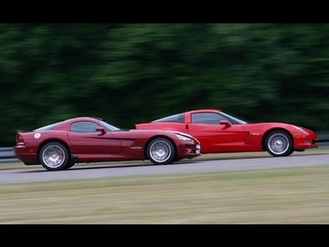 '08 Viper SRT10 vs. '07 Corvette Z06: Behind the Scenes - Car and Driver Video