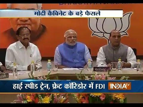 Cabinet approves raising FDI cap in defence to 49 percent - India TV