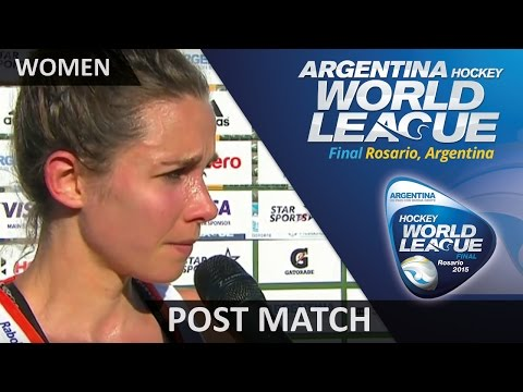 Post Match Interview Ellen Hoog #HWL2015 #Rosario