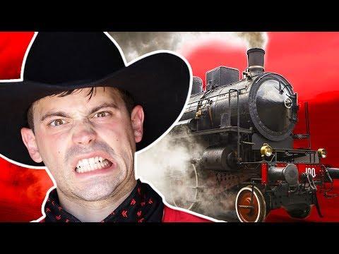 Wild West Train Heist