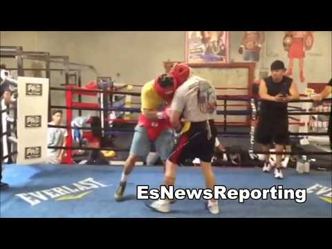 brandon rios and marcos maidana sparring EsNews Boxing Image 1