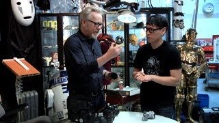 Adam Savage Geeks Out Over Camera Gear