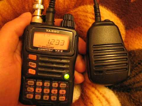 Yaesu VX-6r working on mw/sw band