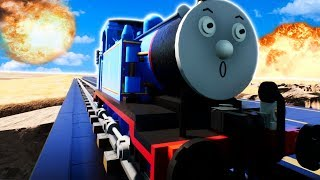LEGO TRAIN CRASHING CHALLENGE! - Brick Rigs Gameplay Roleplay - Lego Train Crashes