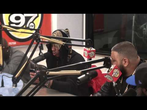 Dj Khaled Introduces Vado As New we The Best Artist On Hot 97.1fm Funkmaster Flex Show video